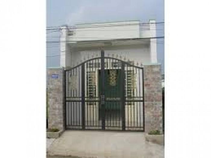 Nhà ở  giá dưới đất ,ngay chợ Hưng Long,83M2, 2P ngủ,1 wc chỉ 285tr