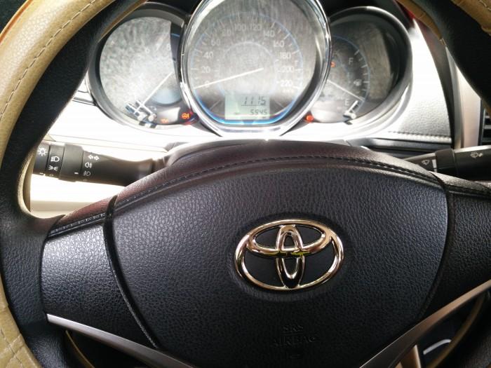 Cần bán xe toyota vios so sàn cuối 2015 1