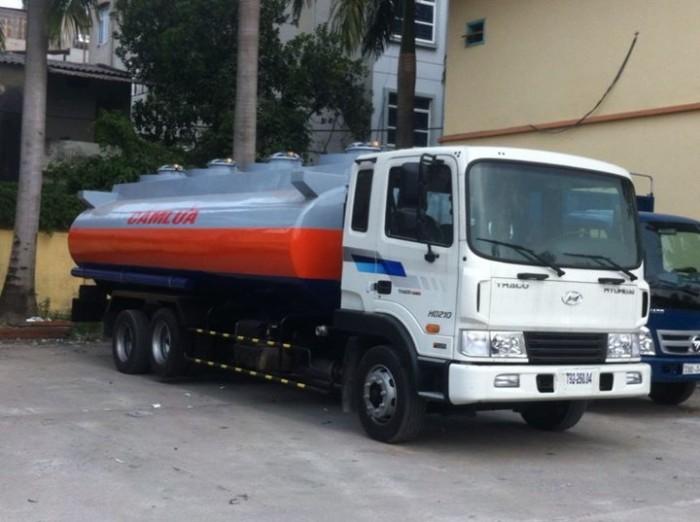 Xe bồn chở xăng dầu 21 khối HYUNDAI nhập khẩu, 3