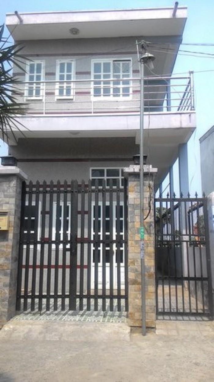 Nhà mới 5x15m đúc thật 80m2 SHR đường thông 12m