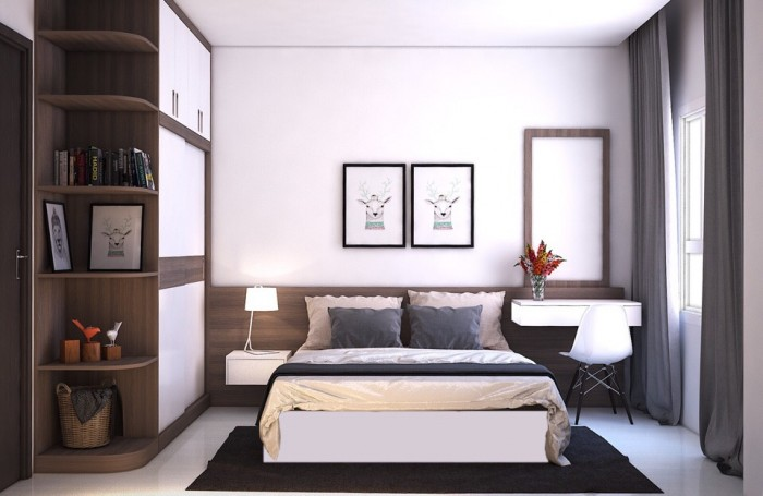 Cho thuê gấp căn hộ sunrise city, q7, 99m2, 2pn, nội thất đầy đủ, giá 900$/th, bao phí quản lý