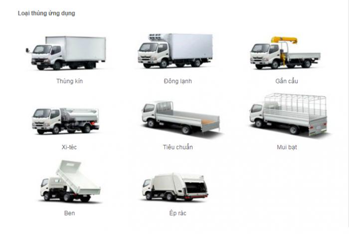 Hino Dutro 300 là dòng xe tải nhẹ 8