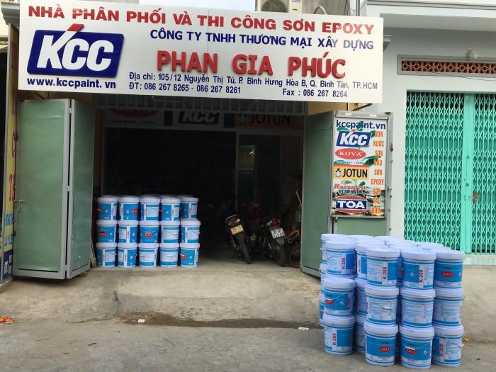 Mua Sơn Epoxy Kcc Dành Cho Nền Sàn Nhà Xưỡng1