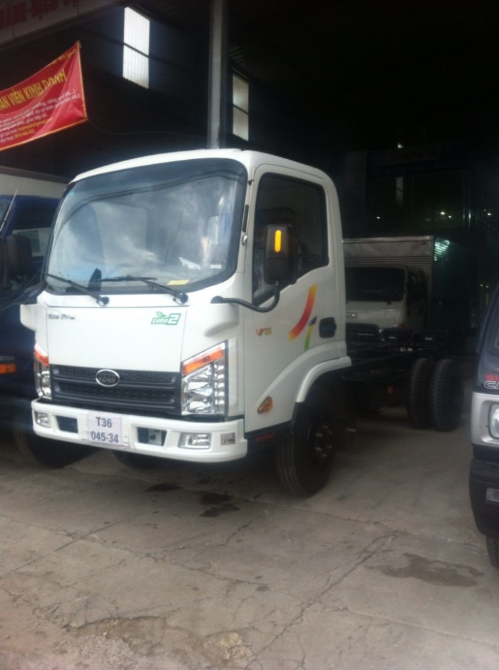 Mới ! Xe tải veam vt252-1 thùng dài 4m2 liên hệ liền tay 1