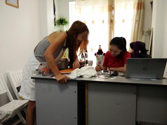 Xưởng may gia công Trang Trần - Mở rộng hợp tác với đối tác nước ngoài.