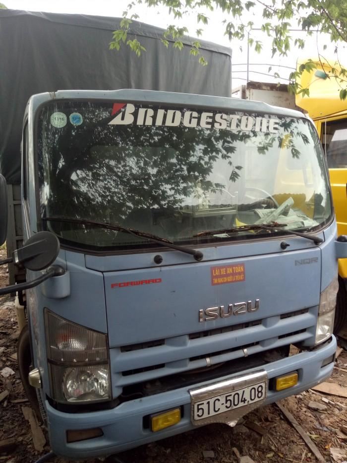 Cần bán xe tải thùng 5 tấn mui bạt
