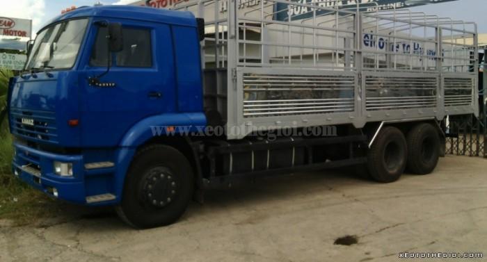 Kamaz 65117 (6x4) tải 15 tấn nhập khẩu nguyên chiếc CHLB Nga