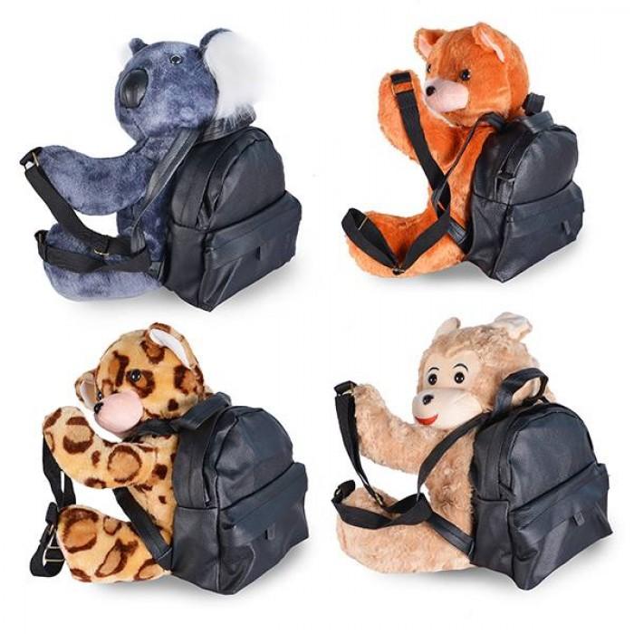 Mẫu balo học sinh hình gấu dễ thương dành cho các bé giá được may gia công với chất liệu bền đẹp, 3