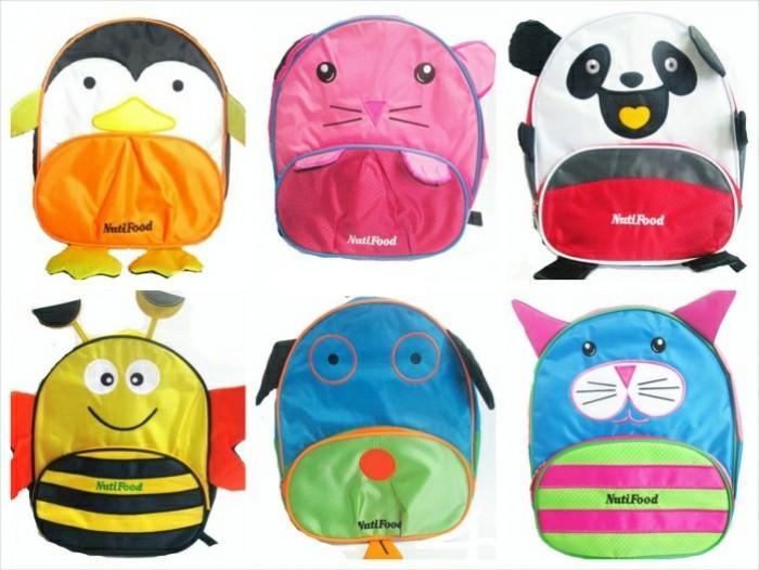 Các mẫu balo hình thú màu sắc dễ thương dành cho trẻ em