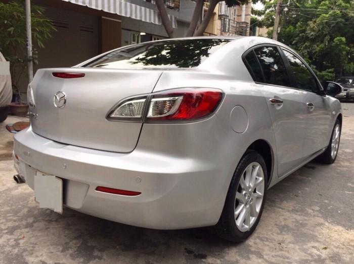 Bán Mazda 3 2013 cũ màu bạc 3