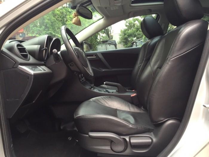 Bán Mazda 3 2013 cũ màu bạc 13