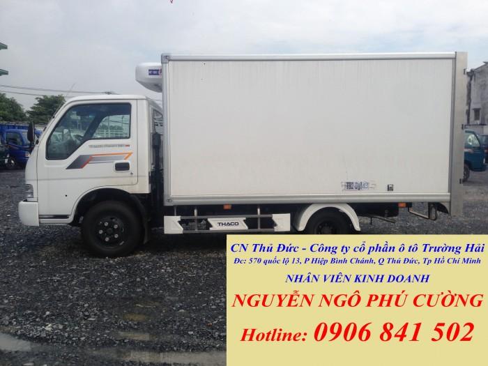 Bán xe đông lạnh KIA 2 tấn, xe tải KIA đông lạnh tải trọng 2 tấn chạy trong thành phố(tải trọng cao nhất) 3