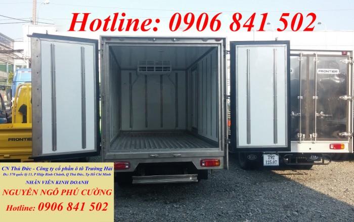 Bán xe đông lạnh KIA 2 tấn, xe tải KIA đông lạnh tải trọng 2 tấn chạy trong thành phố(tải trọng cao nhất) 4