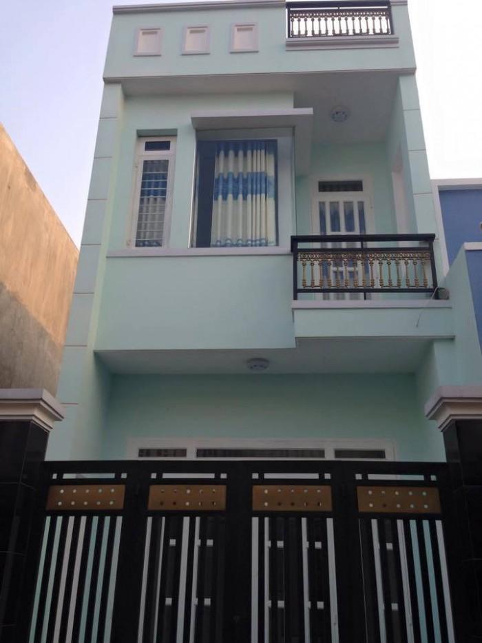 Nhà ở giá rẻ 5x16m đường TT Tân hiệp,SHR