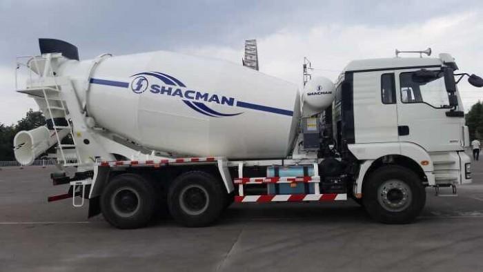 Xe Trộn Bê Tông Shacman 10M3 SX 2017