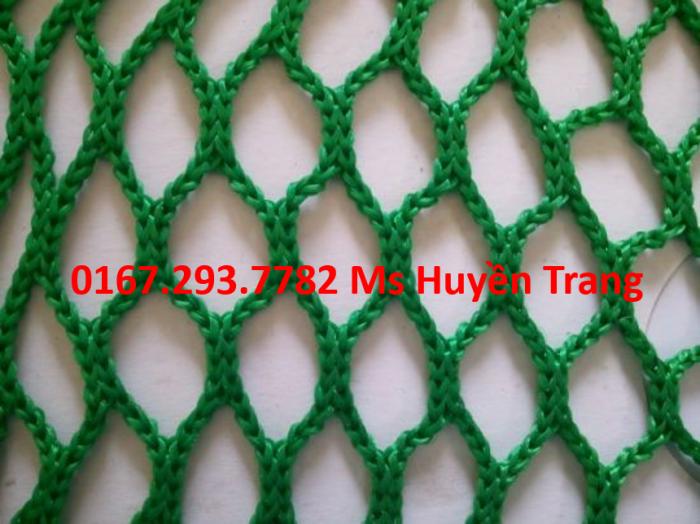 Lưới bao che công trình sợi HDPE cao cấp dùng che chắn bụi bặm, an toàn xây dựng, 4