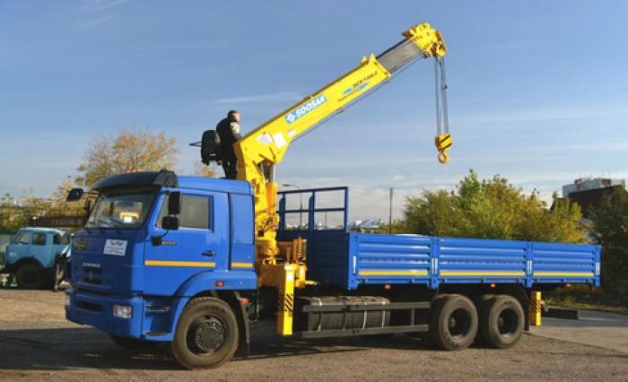 Sở hữu ngay xe tải Kamaz 65117 gắn cẩu nhập khẩu từ Nga chỉ với 20% giá trị xe