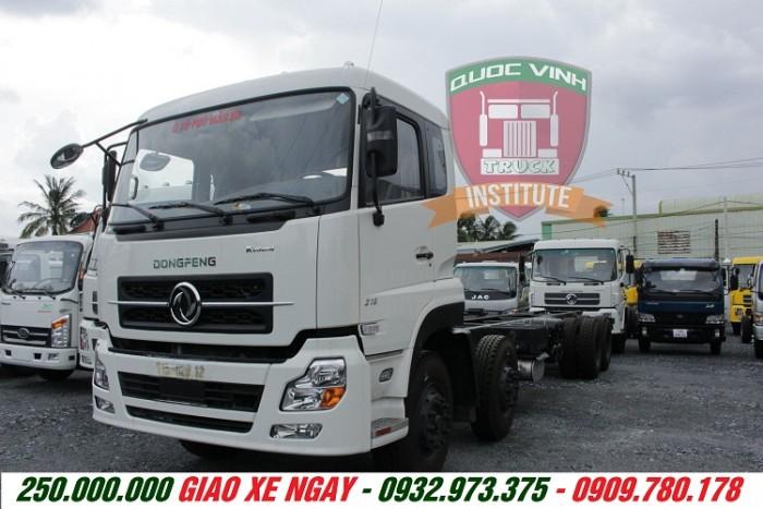 Bán xe dongfeng 4 chân Hoàng Huy 17.9 tấn,mua trả góp xe Chenglong 4 chân 17.9 tấn