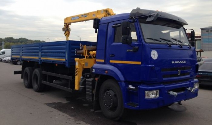 Bán xe tải Kamaz 65117 15 tấn gắn cẩu