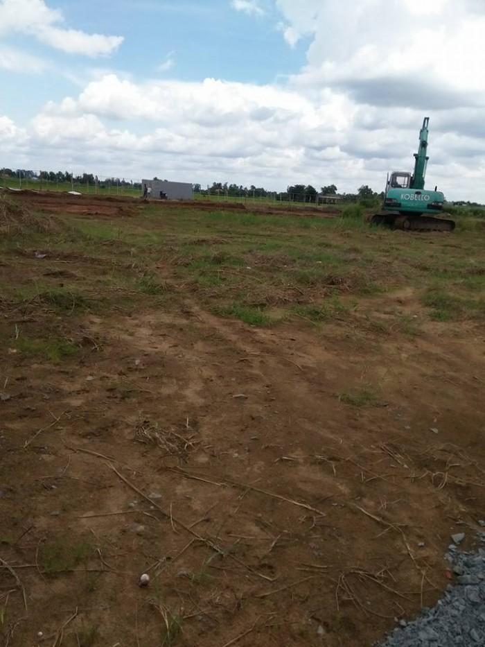 Đất nền mặt tiền ql1a, đường 18m, shr, xdtd