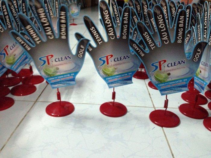Wobbler để bàn ST - Clean, wobbler quảng cáo, sản xuất wobbler, pop quảng cáo, bán sỉ wobbler