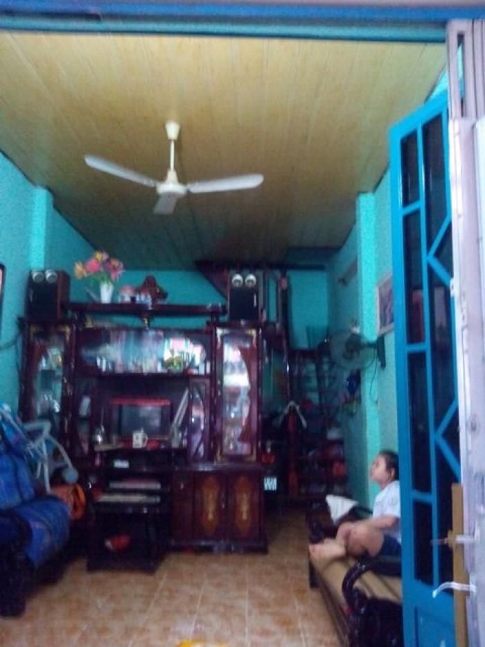 Bán nhà hẻm 71 Nguyễn Bặc, P.3, Tân Bình gần chợ Phạm Văn Hai.
