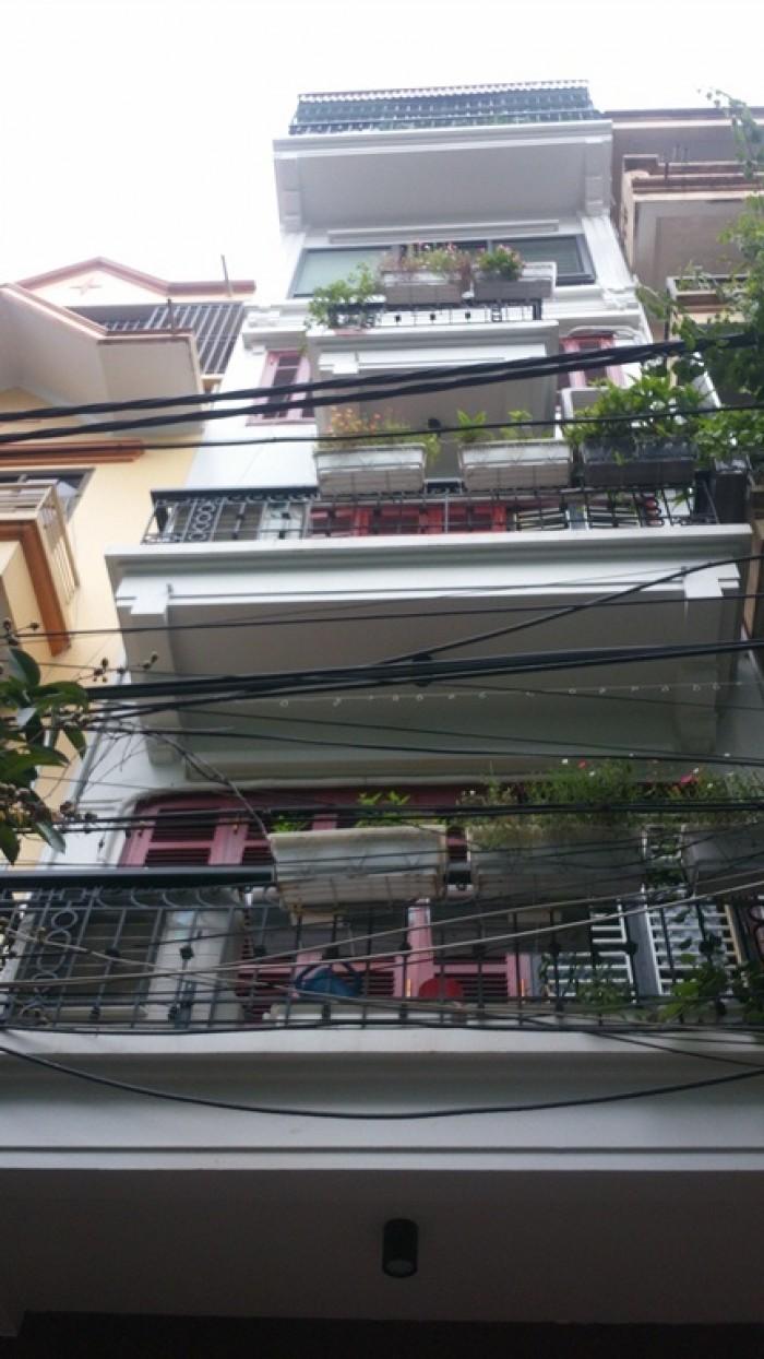 Bán Nhà Hồng Mai 27m2x5T,  MT 4.3m, Giá 2.48tỷ.