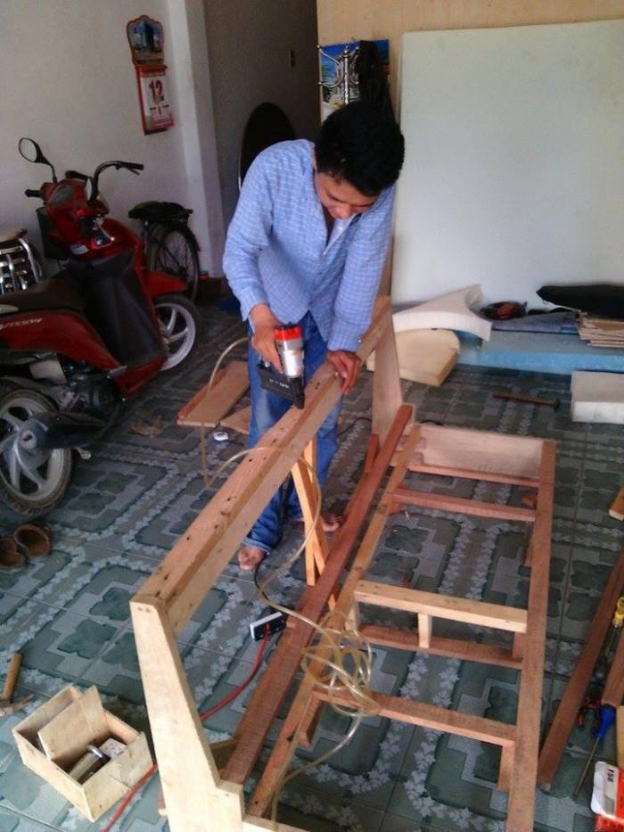 Sửa chữa ghế nệm tân nơi giá tốt