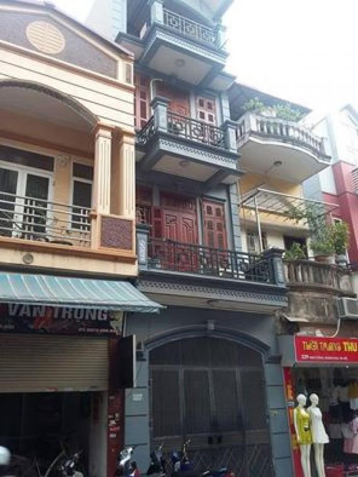 Bán nhà Trần Duy Hưng, 55m2, 5 tầng, mặt tiền 5m, đẹp TUYỆT VỜI, giá 4.75 tỷ.