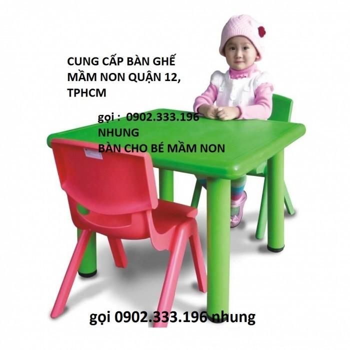 Bàn ghế gỗ mầm non,1