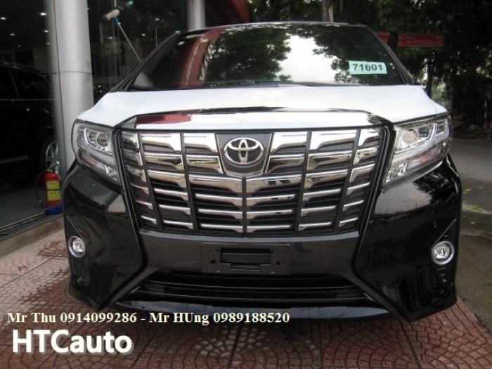Toyota alphard 3.5 v6 2016 màu đen,nhập Đức