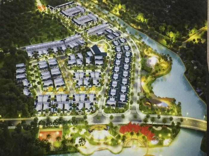 Nhà Phố, biệt thự ven sông Quận 12. giá 3 tỷ/ căn.