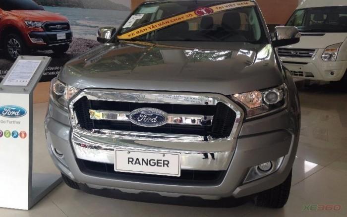 Ford Ranger XLT MT 4x4 2016 giá gốc + gói phụ kiện