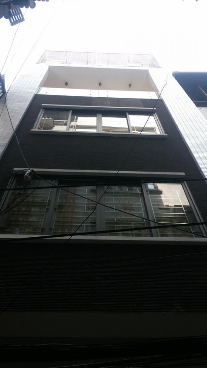 Bán Nhà Bùi Ngọc Dương 26m2x4T, MT 4m, kinh doanh, Giá 3.89 tỷ.