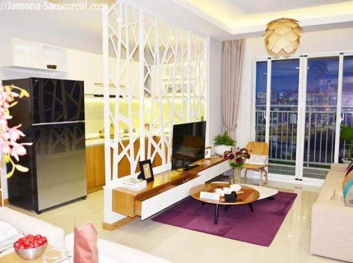 Bán căn hộ Luxury Home Q7 căn góc view sông, giao nhà hoàn thiện TT 35% nhận nhà, giá: 1,6 ty