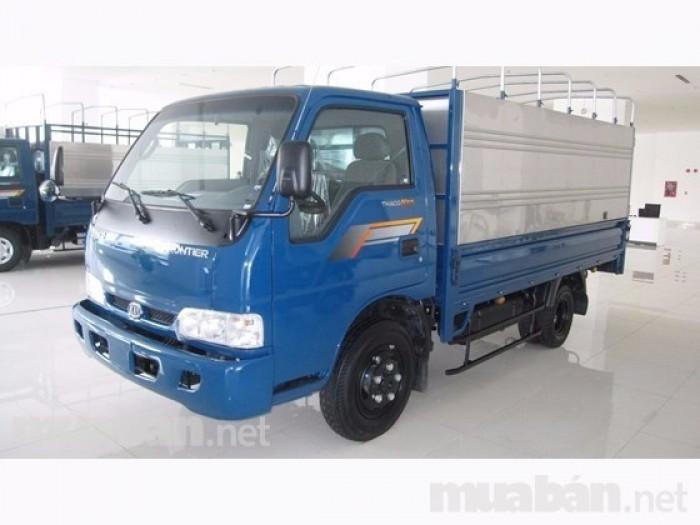 Xe tải  KIA 2,3 tấn, xe tải kia k165s, xe tải kia 2T4 trả góp