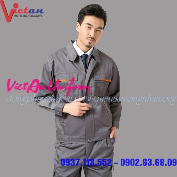 Quần áo công nhân giá rẻ chất lượng cao đây