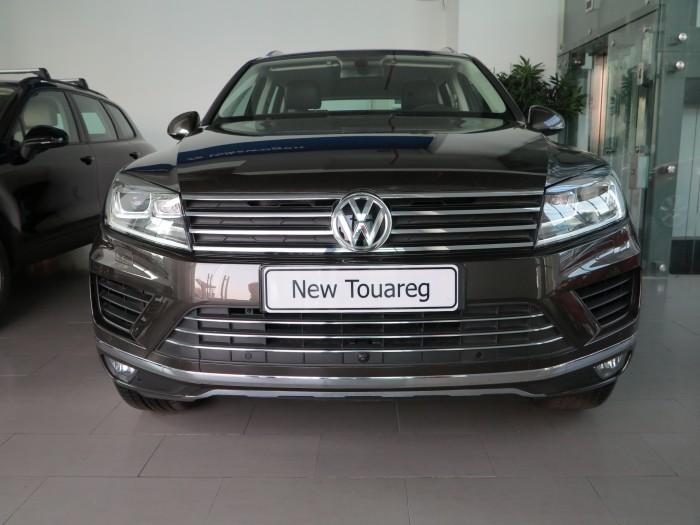 Volkswagen Touareg sản xuất năm 2014 Số tự động Động cơ Xăng