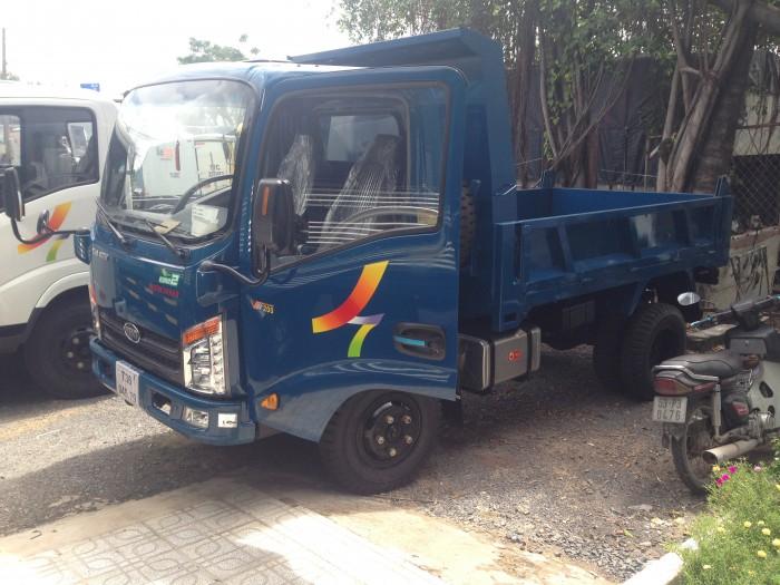 Bán xe tải veam ben 2T VB200, veam ben VB200, Veam VB200 động cơ Hyundai nhập khẩu giá tốt, 2
