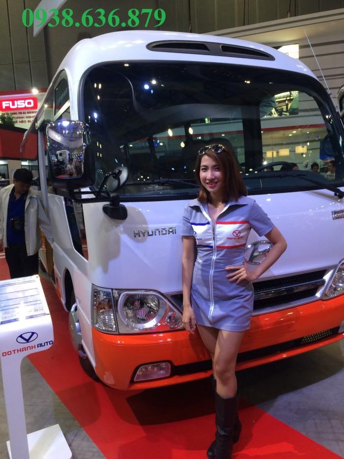 Hyundai County sản xuất năm 2016 Số tay (số sàn) Dầu diesel