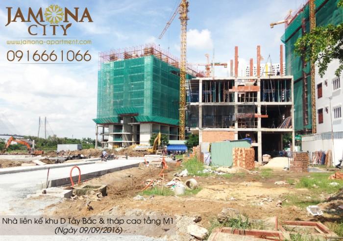 Cần bán đất nền nhà liên kế đối diện công viên tại Jamona City Q.7