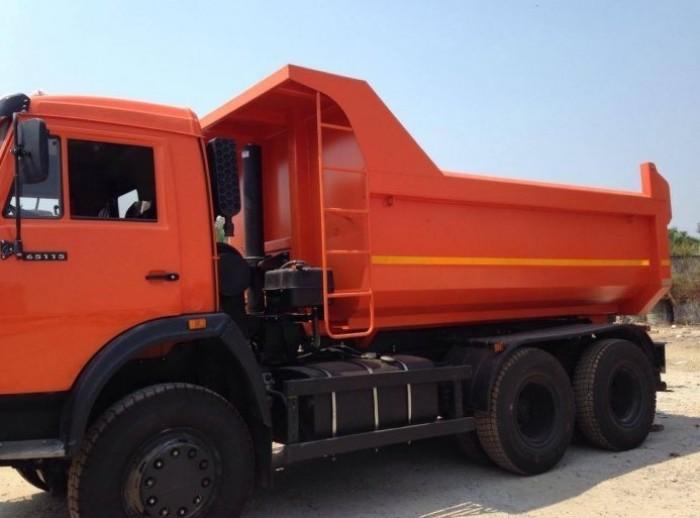 Đại lý phân phối ben Kamaz 65115 15 tấn, giá cạnh tranh, 2