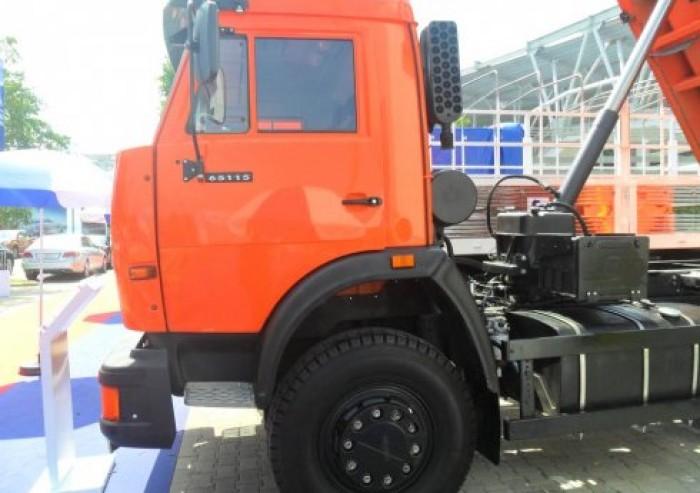 Điểm bán tải tự đổ kamaz 65115 thùng ben 10 m3