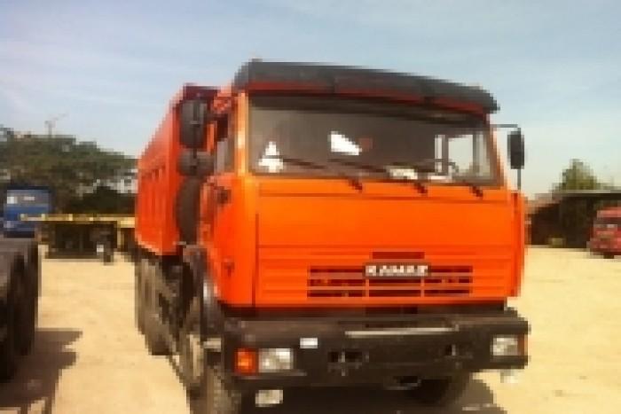 Kamaz ben 65115 15 tấn nhập khẩu Nga, giao xe toàn Quốc