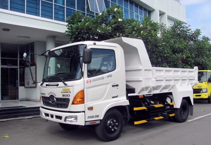 Xe tải ben HINO FC 5t. có bửng hông