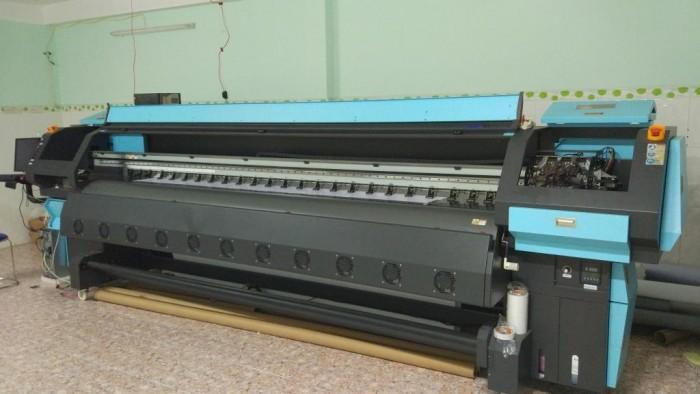 Bán máy in khổ lớn cũ , new 90% chuyên in hiflex, bạt, 1