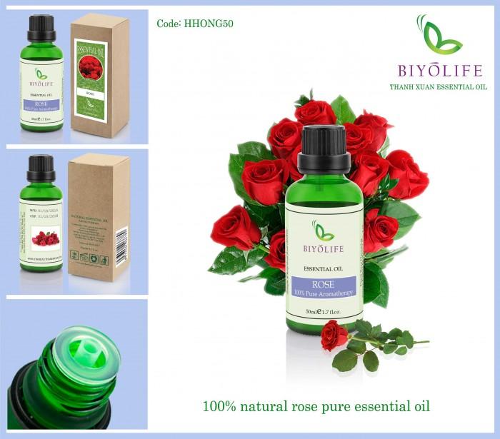 Tinh dầu hoa hồng 1000ml