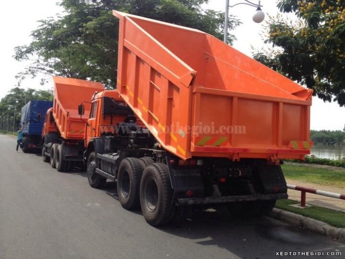 Sở hữu xe kamaz ben 65115 10 khối nhập khẩu CHLB Nga chỉ với 1 tỷ 320 triệu