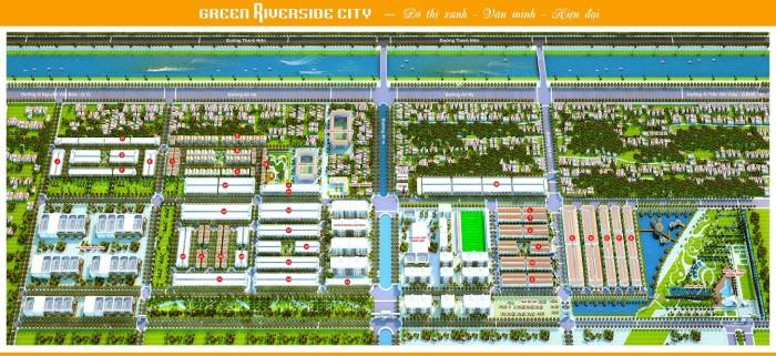 Green Riverside City Dự án mới nhất của Tập đoàn Toàn Cầu Xanh