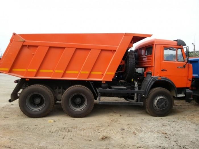 Thông tin Bán xe ben Kamaz 65115 (6x4) 10.3m3 Nhập khẩu 2016, 3